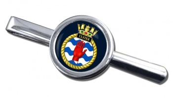 HMS Ulster (Royal Navy) Round Tie Clip