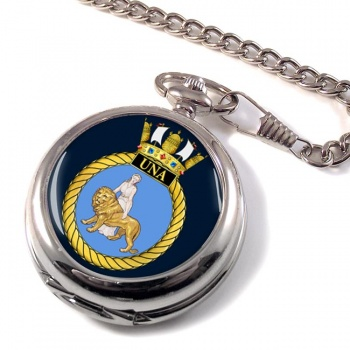 HMS Una (Royal Navy) Pocket Watch