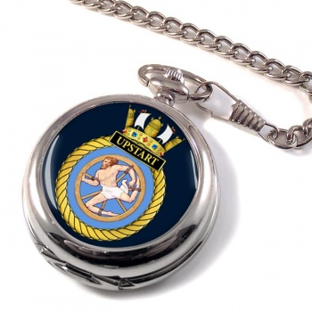 HMS Upstart (Royal Navy) Pocket Watch
