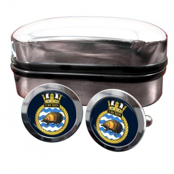 HMS Urchin (Royal Navy) Round Cufflinks