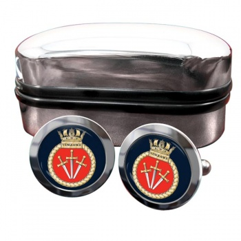 HMS Vengeance (Royal Navy) Round Cufflinks