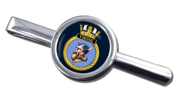 HMS Viking (Royal Navy) Round Tie Clip