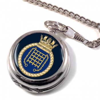 HMS Westminster (Royal Navy) Pocket Watch