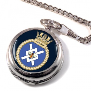 HMS Zealous (Royal Navy) Pocket Watch