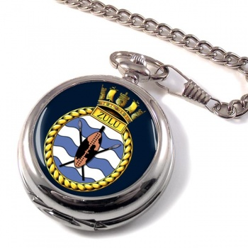 HMS Zulu (Royal Navy) Pocket Watch