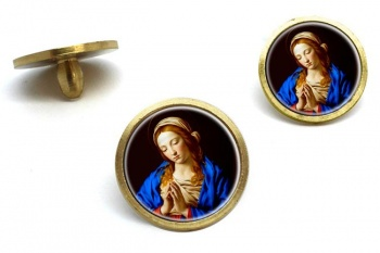 Blessed Virgin Mary Golf Ball Markers