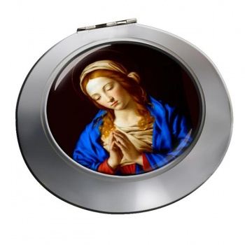 Blessed Virgin Mary Chrome Mirror
