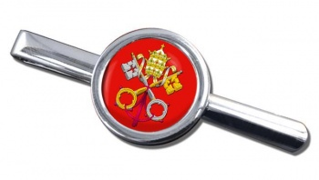 Holy See Coat of Arms Tie Bar