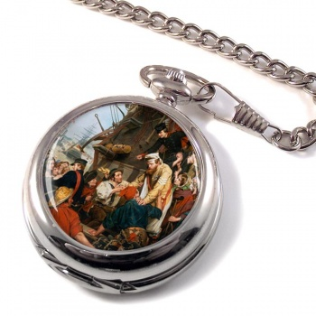 Home Again by Henry Nelson O'Neil Pocket Watch