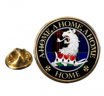 Home Scottish Clan Round Pin Badge
