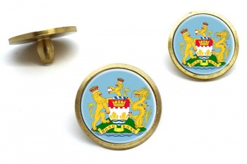 British Hong Kong Golf Ball Marker