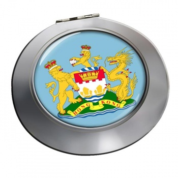 British Hong Kong Round Mirror