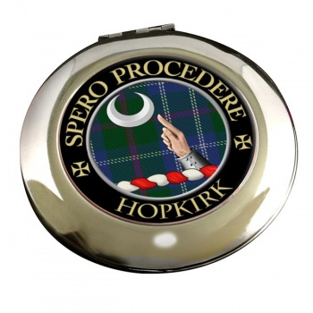 Hopkirk Scottish Clan Chrome Mirror