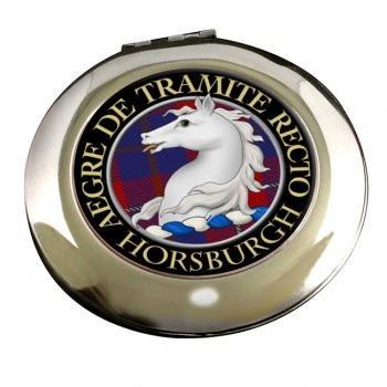 Horsburgh Scottish Clan Chrome Mirror