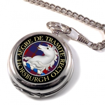 Horsburgh Scottish Clan Pocket Watch