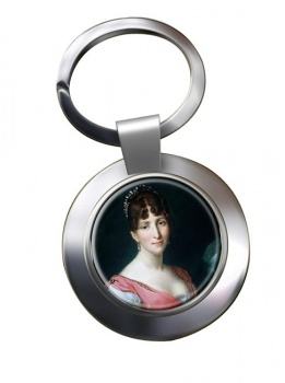 Hortense de Beauharnais Chrome Key Ring