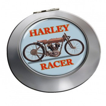 Harley Racer Chrome Mirror