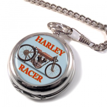 Harley Racer Pocket Watch