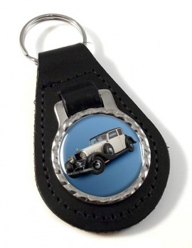 Hispano Suiza J12 Leather Keyfob
