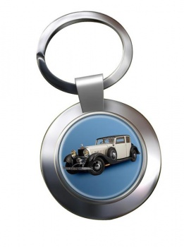 Hispano Suiza J12 Chrome Key Ring