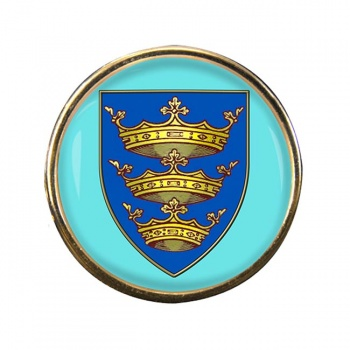 Kingston upon Hull (England) Round Pin Badge