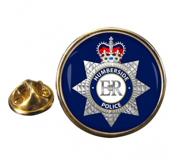 Humberside Police Round Pin Badge