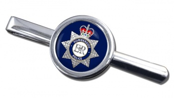 Humberside Police Round Tie Clip