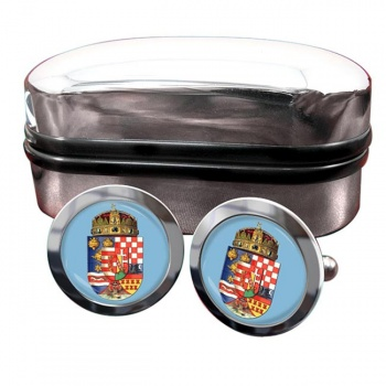 Hungary 1915 Coat of Arms Cufflinks