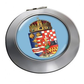 Hungary 1915 Coat of Arms Round Mirror