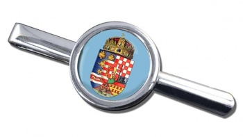Hungary 1915 Coat of Arms Round Tie Clip