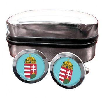 Hungary Coat of Arms Cufflinks
