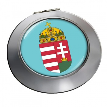 Hungary Coat of Arms Round Mirror