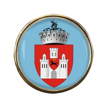 Iasi (Romania) Round Pin Badge