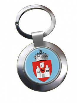 Iasi (Romania) Metal Key Ring