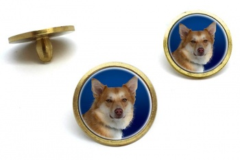 Icelandic Sheepdog  Golf Ball Marker Set