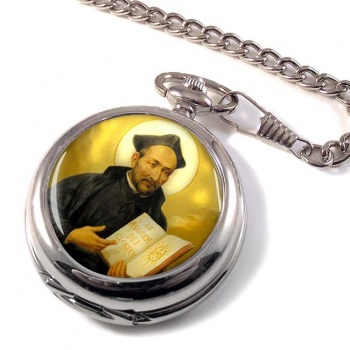 St. Ignatius of Loyola Pocket Watch