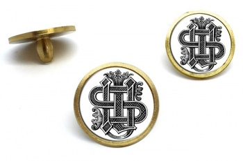 Christogram Entwined Golf Ball Markers
