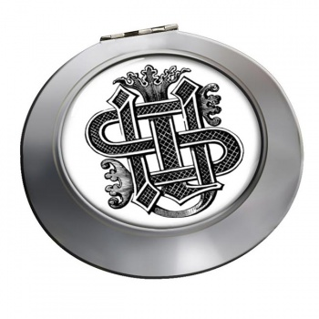 Christogram Entwined Chrome Mirror