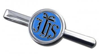 Christogram IHS Gothic Tie Bar
