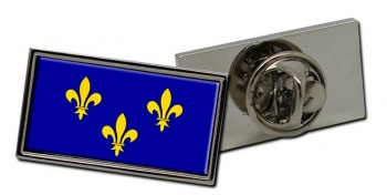 Ile-de-France Flag Pin Badge