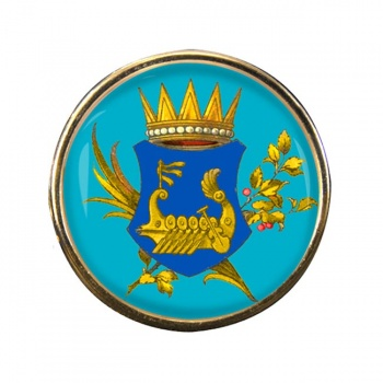 Kingdom of Illyria Round Pin Badge