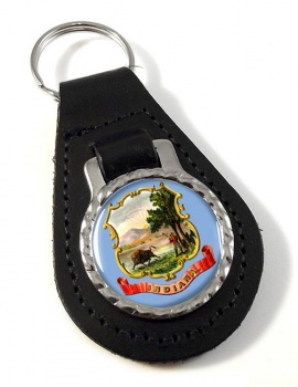 Indiana  Leather Key Fob