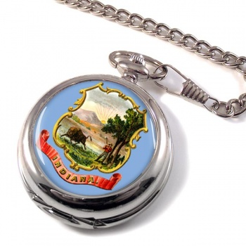 Indiana USA Pocket Watch