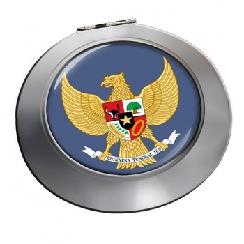 Indonesia Round Mirror