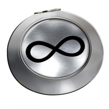 Infinity Symbol Metallic Chrome Mirror