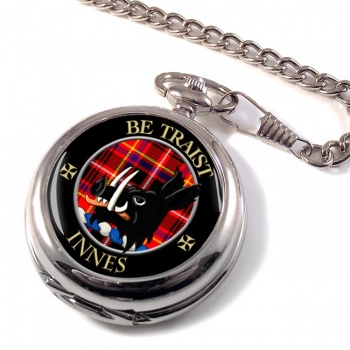 Innes Scottish Clan Pocket Watch