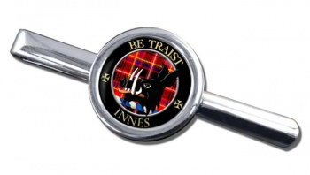 Innes Scottish Clan Round Tie Clip