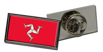 Isle of Man Flag Pin Badge