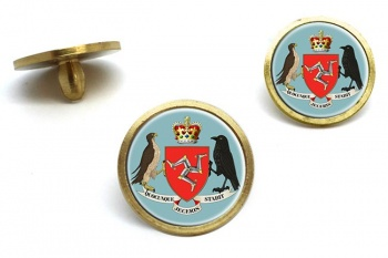 Isle of Man Coat of Arms Golf Ball Marker