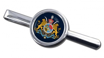 Imperial Coat of Arms Iran Round Tie Clip